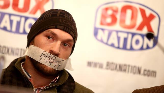Fury, Britanya boks federasyonunu böyle protesto etmişti