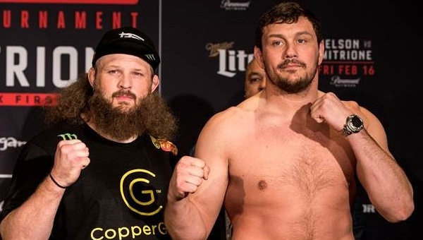 Roy Nelson - Matt Mitrione